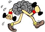 cervello e piedi